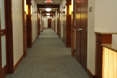 Typical Back Corridors to Exam Rooms and Offices
