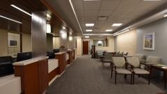 Specialties Reception Area
